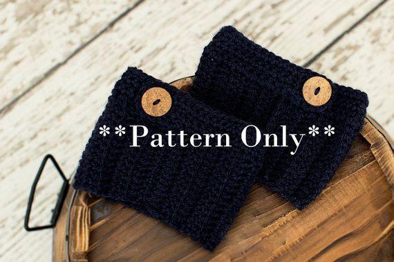 boot cuff pattern boot cuffs pattern by TenderMomentsCrochet