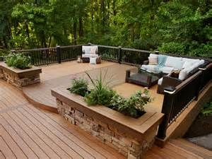 An Evening Escape This Classic Deck Design Pulls In The Rustic Color . Part 41