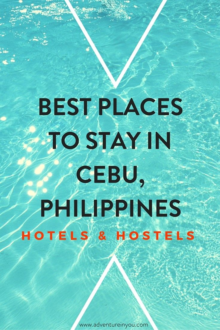 Looking for the best places to stay in cebu for hotels and hostels? Here is our guide of recommended places suitable for any travel budget and style