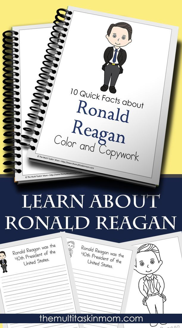Take some time to learn about why Ronald Reagan is arguably the most beloved president the United States has ever known. Get your copywork pack today.