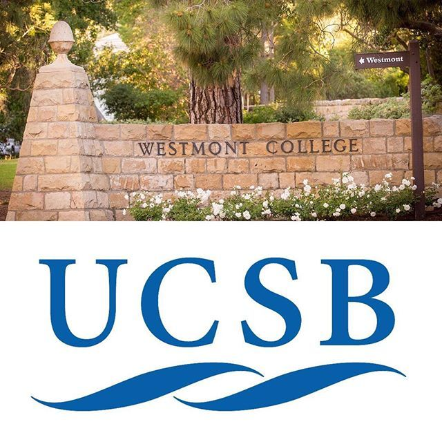 College Fieldtrip Day 40 Students Off To Westmont For The Morning And Ucsb In The Afternoon Stop By The C C Center If Y College Tour Westmont College College