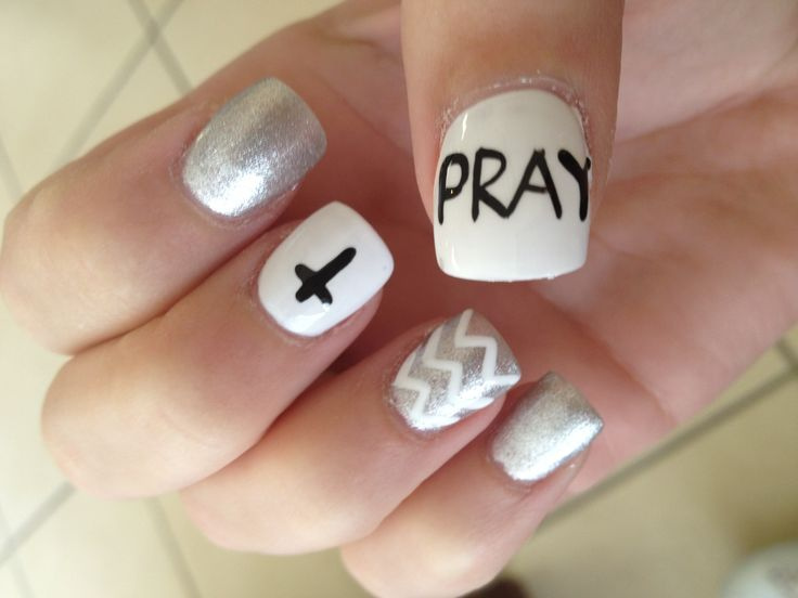 My nails :) - 39 Best Christian Nail Art Images On Pinterest Cross Nails