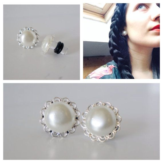 Pearl Gauges Plugs 4g 5mm 2g 6mm 0g 8mm 2g 6mm 00g by EdgySister