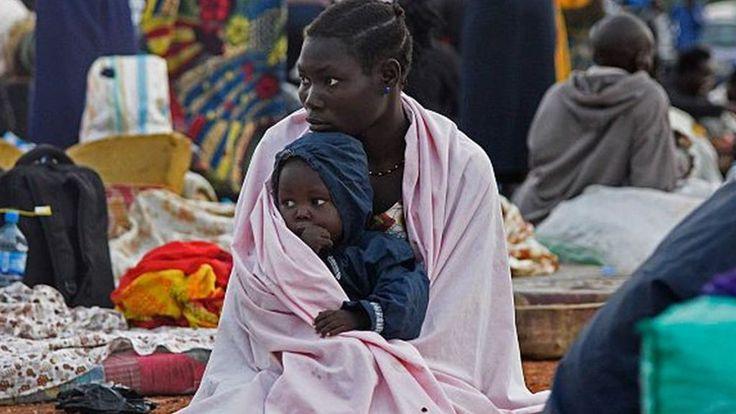 South Sudan refugees reach one million mark - BBC News