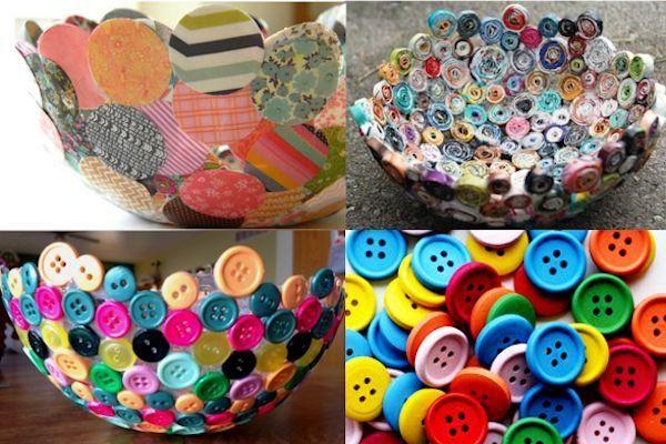 Decora tu hogar con objetos hechos con materiales reciclados ...