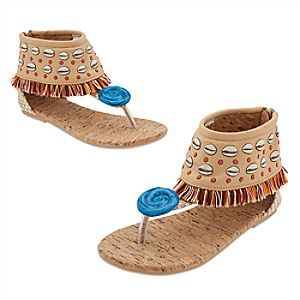 Moana Costume Shoes for Kids   Disney Store Your little adventurer can step into the role of a master wayfinder with our Moana Costume Shoes featuring seashell print uppers, island-inspired fringe and glossy Moana wave icon.