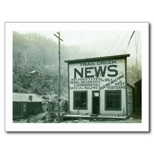 West Kootenay, British Columbia, Canada Vintage Post Cards