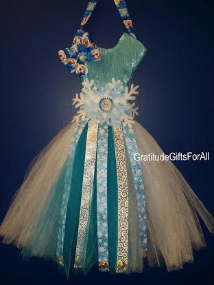 Check out this item in my Etsy shop https://www.etsy.com/listing/198399885/frozen-tutu-bow-holder-perfect-for-girls
