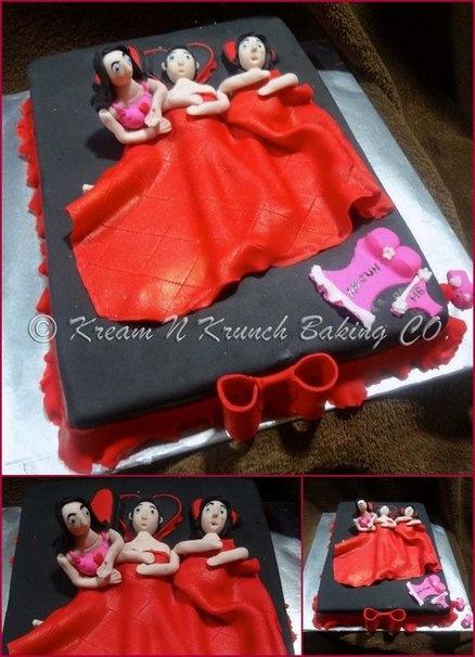 Birthday Cake Naughty Images : Naughty in Bed Cake by KnKBakingCo CAKES HABITACIONES ...