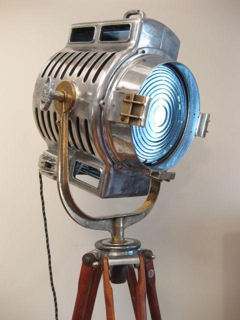 1930′s USA Mole Richardson Hollywood California Spot Light.