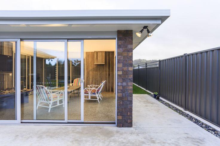 #entrydoor #awningwindows #bathroom #splashback #mirror #shower #slidingstackerdoors #tasmania