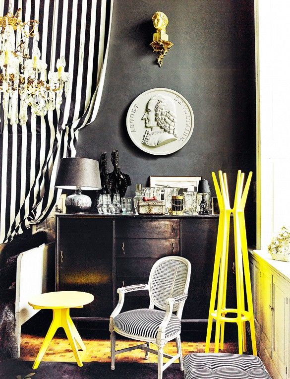 Colorful Eclectic Mexico City Interior Design
