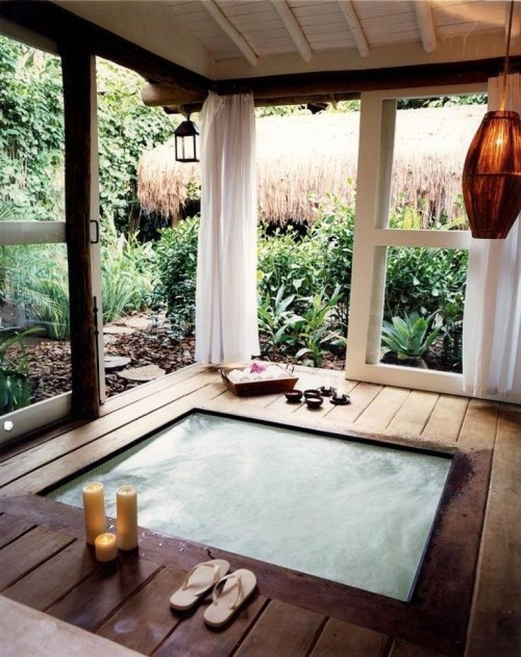 Awesome Hot Tub Under Deck Design Ideas Hot Tub Room Indoor Hot Tub Hot Tub Designs