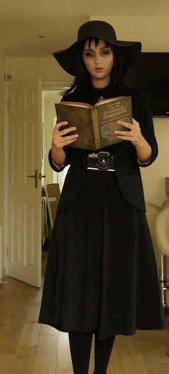 Lydia cosplay #beetlejuice