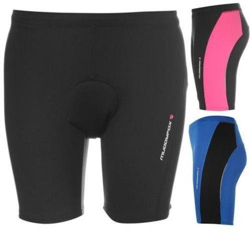 Muddyfox Cycling Padded Seat Shorts Ladies Bike ~All Sizes 8-18, Eu Xs-Xxl