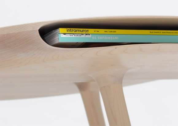 The Tokyo Table by Loic Bard Has a Sneaky Hidden Compartment #storage #secretcompartment trendhunter.com