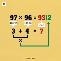 Nine simple math tricks you'll wish you had always known - Why didn't they teach us these in school?