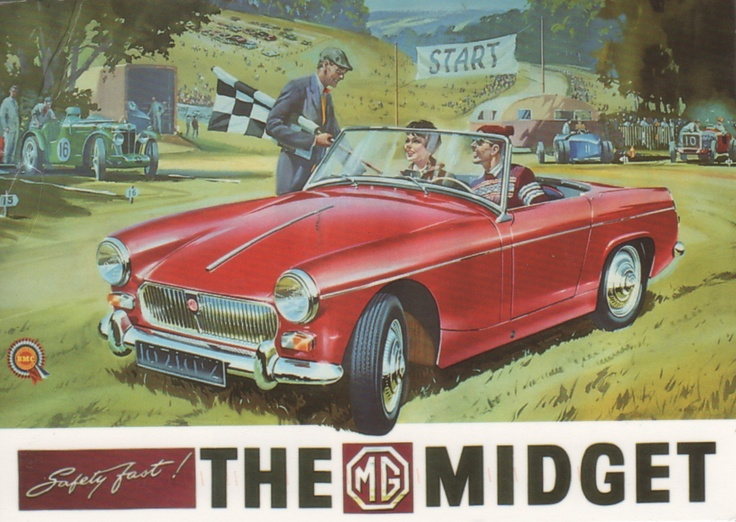 Mg Midget From Goldielocks In Germany
