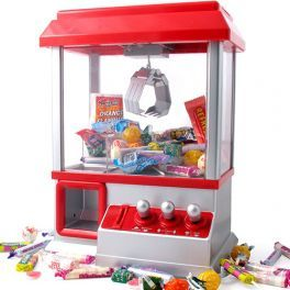 Candy Arcade. Candy Grabber - Experience the fun of the fair from the comfort of your own home! Grab your favorite candy or a small toy, with skill, dexterity and patience! Move the hook to the stuffed animals, candy and treats. For the candy machine you can use a coin or plastic discs. Get your candy before the music stops. It's easier than you think. With the drivers you can move from right to left and up and down, front and back. www.difmall.com