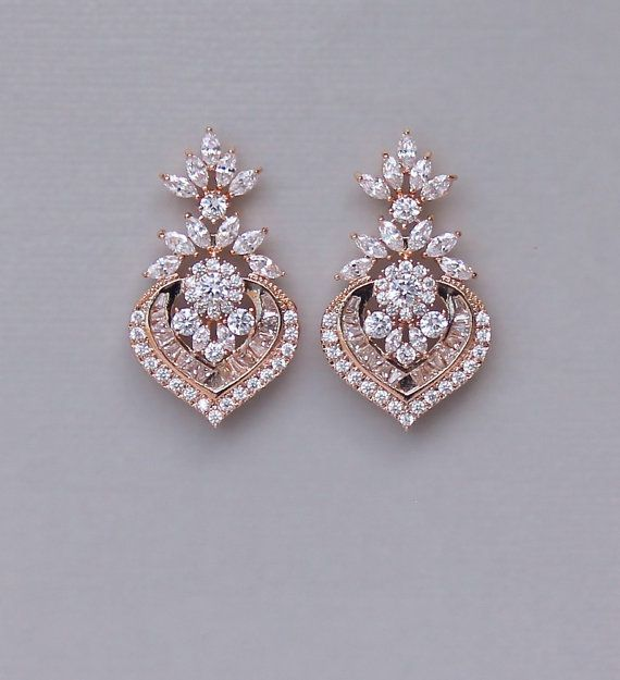 best 25 rose gold earrings ideas on pinterest rose gold wedding jewelry gold wedding jewelry. Black Bedroom Furniture Sets. Home Design Ideas