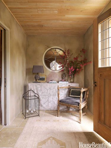 17 best images about small spaces on pinterest red lantern entryway and small powder rooms - Organize small space property ...