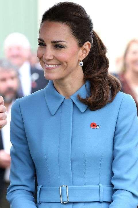 Kate Middleton - coda di cavallo #hair #lightblue #katemiddleton #elegance #princess