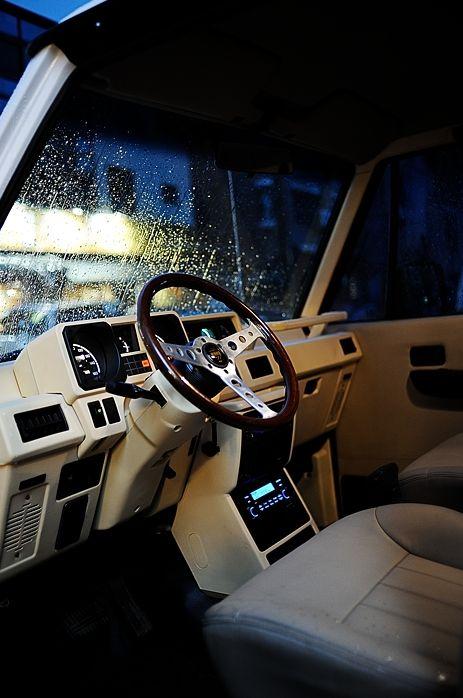 Mitsubishi Pajero -> Hyundai Galloper -> Mohenic Garages redesign - Cream Gallop www.the.co.kr/
