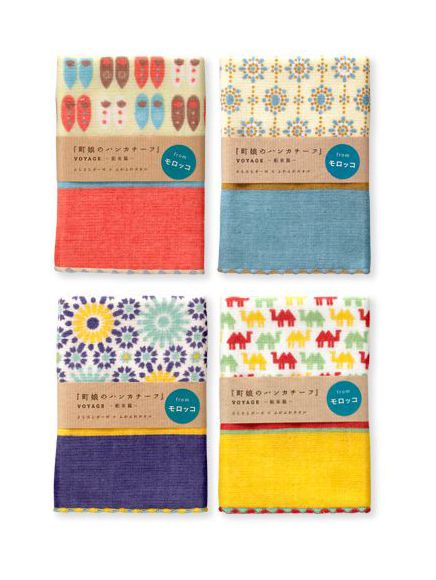 machimusume no handkerchief / voyage / Morocco / FROM GRAPHIC