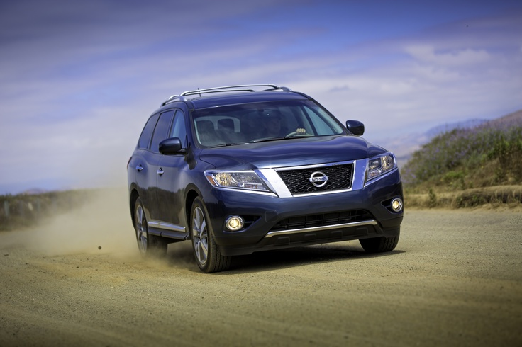 The All-New 2013 Nissan Pathfinder : My Alamo Car Rental Choice #AlamoHappyPlace