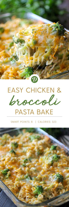 Easy Chicken & Broccoli Pasta Bake