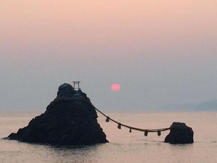 伊勢 夫婦岩 Meoto-Iwa, Ise