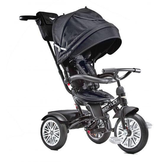Bentley 6-in-1 Baby Stroller/Kids Trike - Onyx Black by Bentley Motors at MineMine Kids