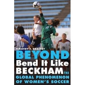 Book about women's soccer, got a great review from equalizer soccer