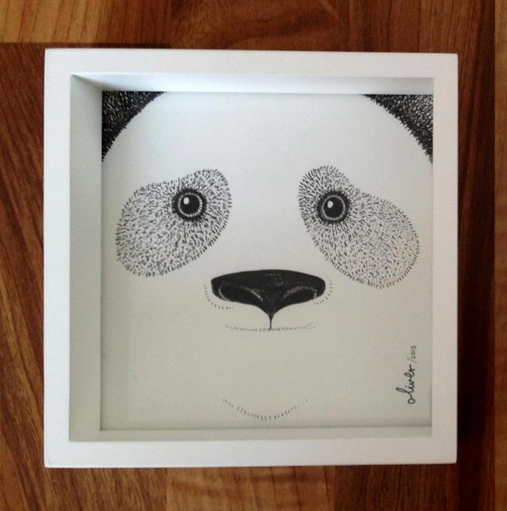 Panda - by Oliver Whyte #WhyteBox