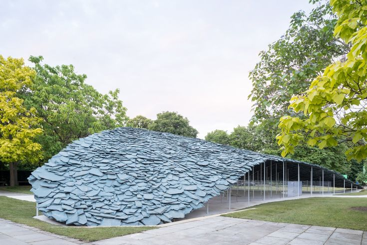Junya Ishigami Unveils Swooping Slate for Serpentine Pavilion 2019