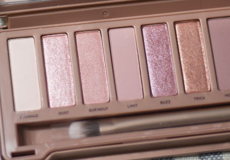 naked 3 palette by Urban Decay