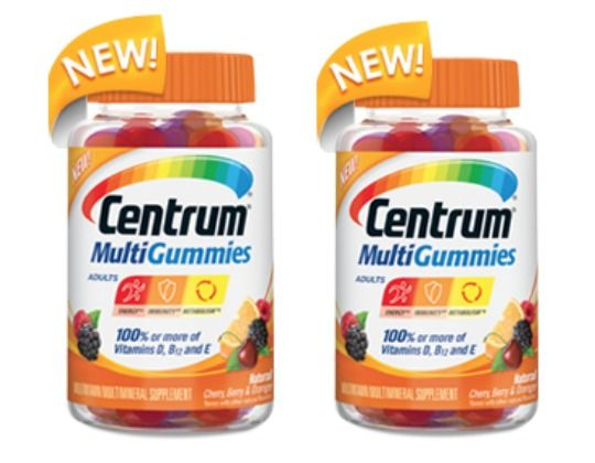 Centrum Multivitamin Gummies .  Received these free for review from smiley360.  Actually taste pretty good.  A great way to take vitamins if you hate swallowing pills.