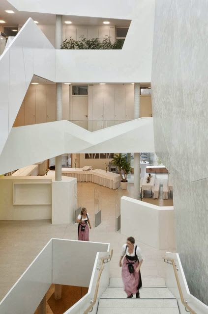 #BAD AIBLING CITY HALL BY BEHNISCH ARCHITEKT , this is where I got married