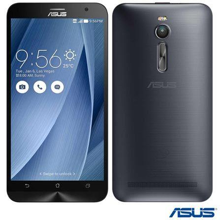 (Fast Shop.com.br) Zenfone 2 Dual Prata Asus, Com Tela De 5,5 ´ , 4g, 32 Gb E Câmera De 13 Mp ? Ze551 - de R$ 1709.91 por R$ 1281.6 (26% de…