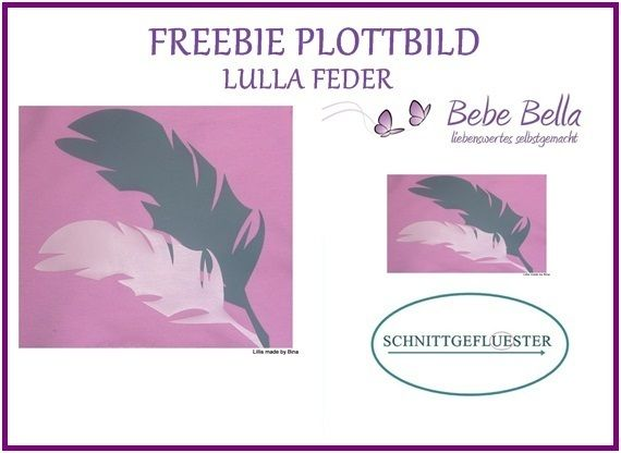 Freebie Plottdatei Feder