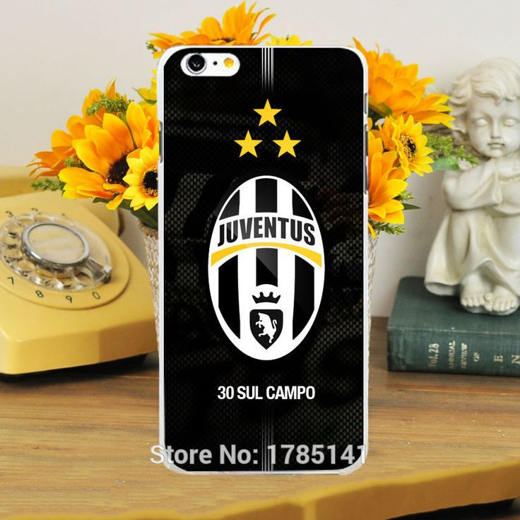1pcs juventus Team Logo -1 hard white Skin Case for iphone6 6S(4.7inch) and iphone6 6Splus(5.5inch)