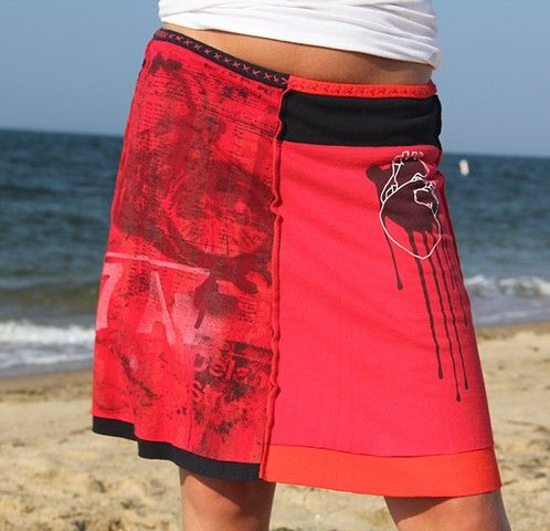 Hot Sale Cheap Price Free Shipping Visit New Cupro Skirt - Bleeding Heart Skirt by VIDA VIDA iDvhx