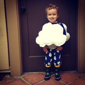 Disfraz de Nube Lluviosa /Rain Cloud Costume #Rain #Costume #lluvia #Disfraz