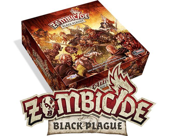 Zombicide: Black Plague on Kickstarter
