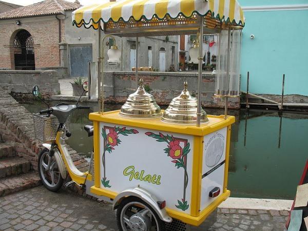 The Italian Ice Cream Scooter