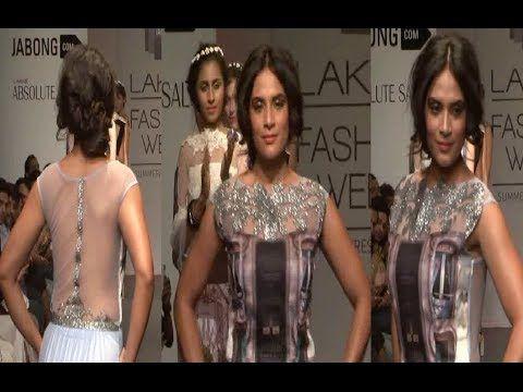 Richa Chadda @ Lakhme Fashion Week 2014.