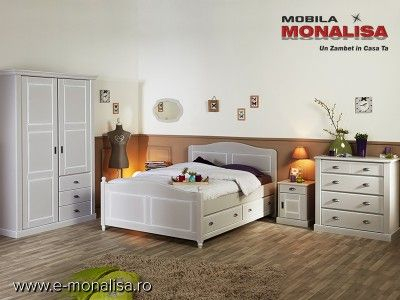 Mobila Dormitor Clasica Dulap haine in 2 Usi Khate - Pret Fabrica