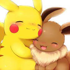 Eevee & Pikachu! <3