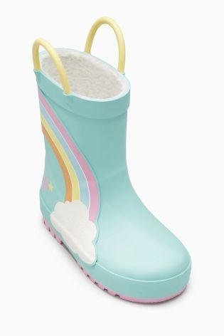 Buy Turquoise Rainbow Wellies (Younger Girls) online today at Next: United States of America