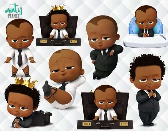 African American Boss Baby Afro Boss Baby Characters Full Etsy Baby Birthday Party Boy Baby Birthday Party Boss Baby